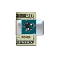 San Jose Sharks Pewter Emblem Money Clip