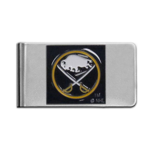 Buffalo Sabres Pewter Emblem Money Clip