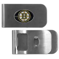 Boston Bruins Money Clip Bottle Opener NHL New