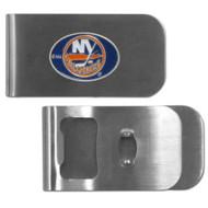 New York Islanders Money Clip Bottle Opener NHL New