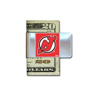 New Jersey Devils Pewter Emblem Money Clip