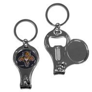 Florida Panthers 3 in 1 Keychain