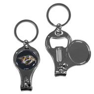 Nashville Predators 3 in 1 Keychain