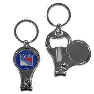 New York Rangers 3 in 1 Keychain