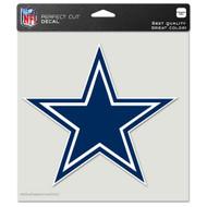 """Dallas Cowboys 8""""x8"""" Team Logo Decal"""