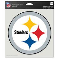 "Pittsburgh Steelers 8""x8"" Team Logo Decal"