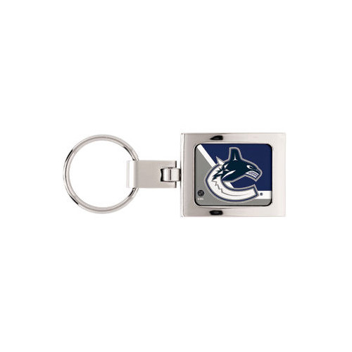 Vancouver Canucks Domed Metal Keychain