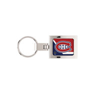 Montreal Canadiens Domed Metal Keychain