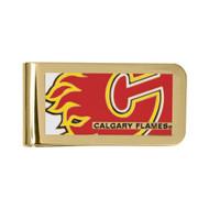 Calgary Flames Money Clip