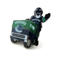 Vancouver Canucks Mascot on Zamboni Lapel Pin