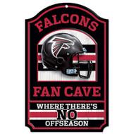 Atlanta Falcons Wooden Sign