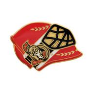 Ottawa Senators Goalie Mask Pin