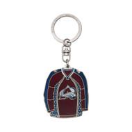 Colorado Avalanche Jersey Keychain