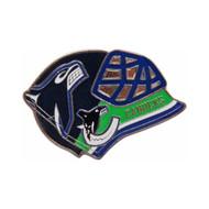 Vancouver Canucks Goalie Mask Pin