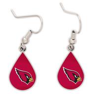 Arizona Cardinals Tear Drop Earrings