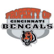 Cincinnati Bengals Property Of Cloisonne Pin