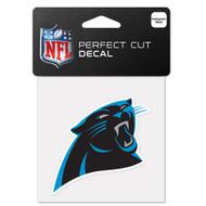 """Carolina Panthers 4""""x4"""" Team Logo Decal"""