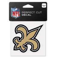 "New Orleans Saints 4""x4"" Team Logo Decal"