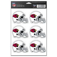 Arizona Cardinals 6-Pack Magnet Set