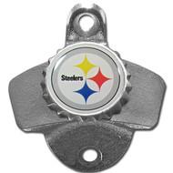 Pittsburgh Steelers Metal Wall Mounted Bottle Opener