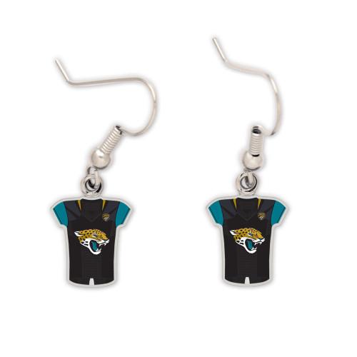 Jacksonville Jaguars Jersey Earrings