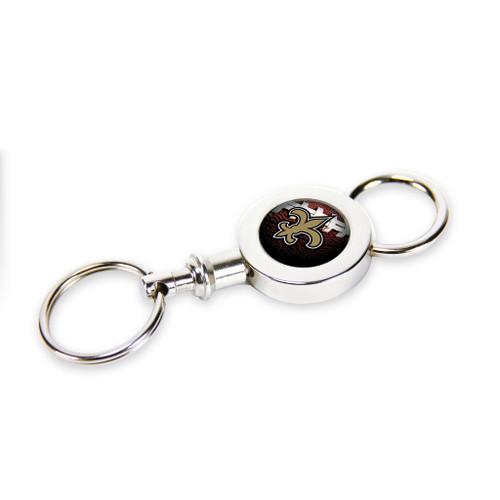 New Orleans Saints Quick Release Valet Keychain