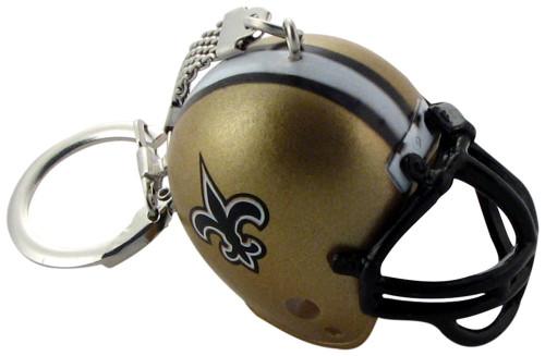 New Orleans Saints Helmet Keychain