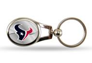 Houston Texans Oval Keychain