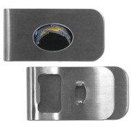 San Diego Chargers Money Clip Bottle Opener