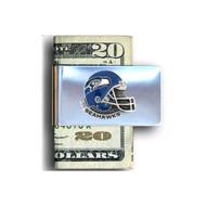 Seattle Seahawks Pewter Emblem Money Clip