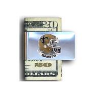 New Orleans Saints Pewter Emblem Money Clip