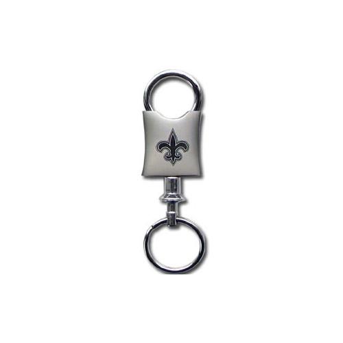 New Orleans Saints Laser Etched Valet Keychain