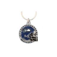 Seattle Seahawks Pewter Keychain