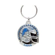 Detroit Lions Pewter Keychain