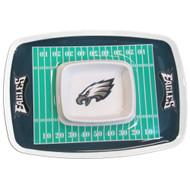 Philadelphia Eagles Chip and Dip Platter