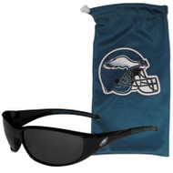Philadelphia Eagles Singlasses and Bag Set