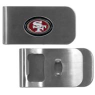 San Francisco 49ers Money Clip Bottle Opener