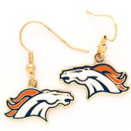 Denver Broncos Dangle Earrings NFL
