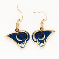 Los Angeles Rams Dangle Earrings NFL