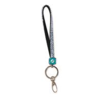Miami Dolphins Bling Keystrap Keychain