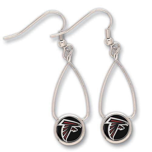 Atlanta Falcons French Loop Earrings