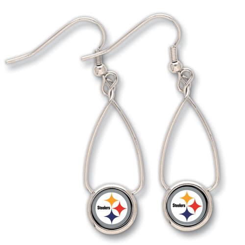Pittsburgh Steelers French Loop Earrings