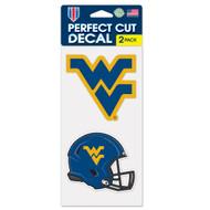 "West Virginia 4""x4"" Logo Decal (2-Pack)"