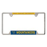West Virginia Metal License Plate Frame