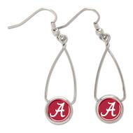 University of Alabama French Loop Earrings NCAA