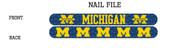 University of Michigan Nail File