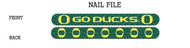 University of Oregon Nail File