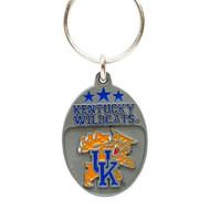 University of Kentucky Pewter Keychain NCAA