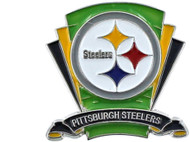 Pittsburgh Steelers Logo Field Lapel Pin