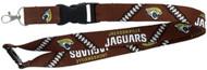 Jacksonville Jaguars Football Laces Lanyard